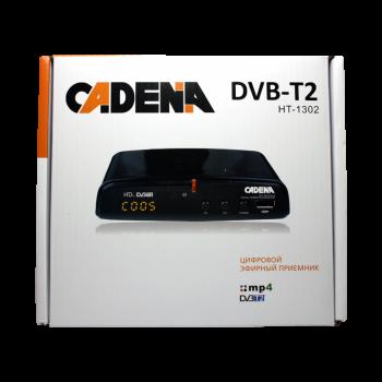 Приемник цифровой эфирный CADENA HT-1302 DVB-T2
