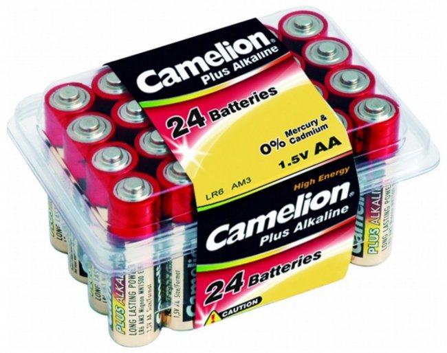 Батарейки алкалиновые Camelion 1.5V тип АА LR6 АM3