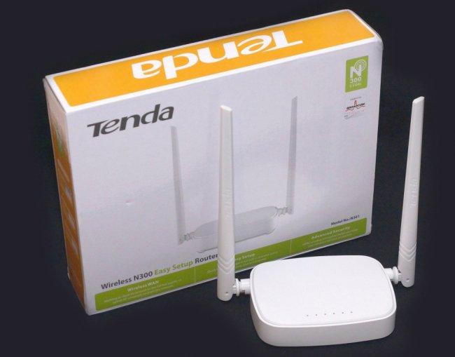 TENDA WIRELESS N301