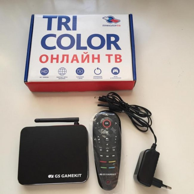 TV-Box (GS АС790)